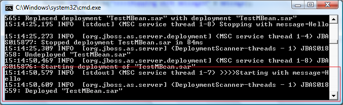 jboss as 7 mbeans mbeans tutorial