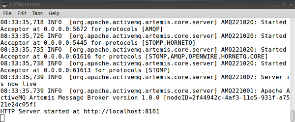 artemis activemq tutorial
