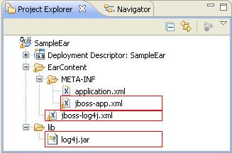 jboss log4j eclipse configuration