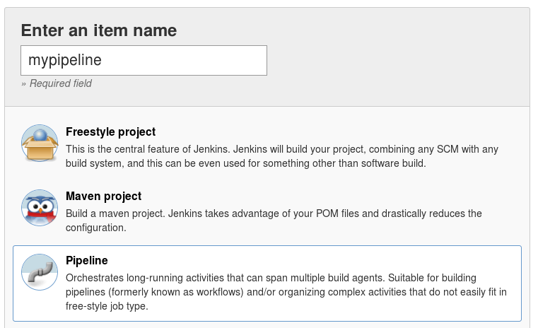 Creating your first Jenkins Pipeline