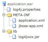 jboss log4j