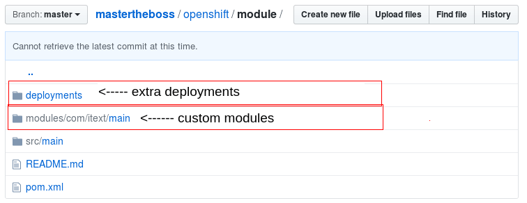 How to customize WildFly applications on Openshift