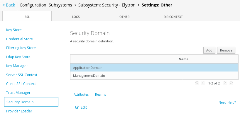 Configure an Elytron JDBC Realm on WildFly