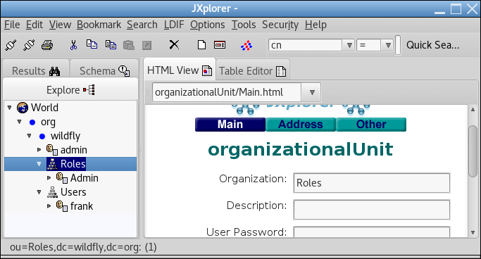 Authentication with an Elytron LDAP-Based Identity Store.