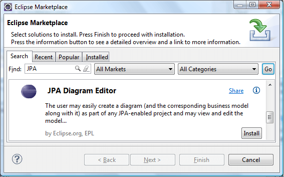 Eclipse jpa editor tutorial ccuart Images