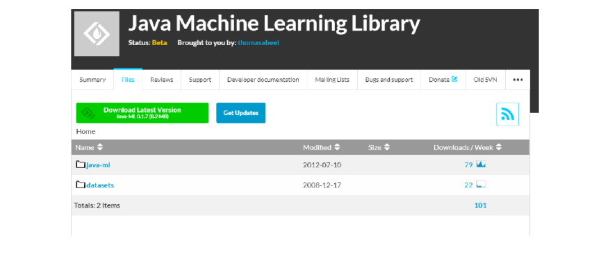 java machine learning tutorial